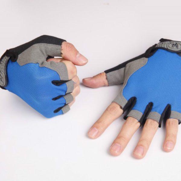 Cyklistické rukavice s protiskluzovou úpravou