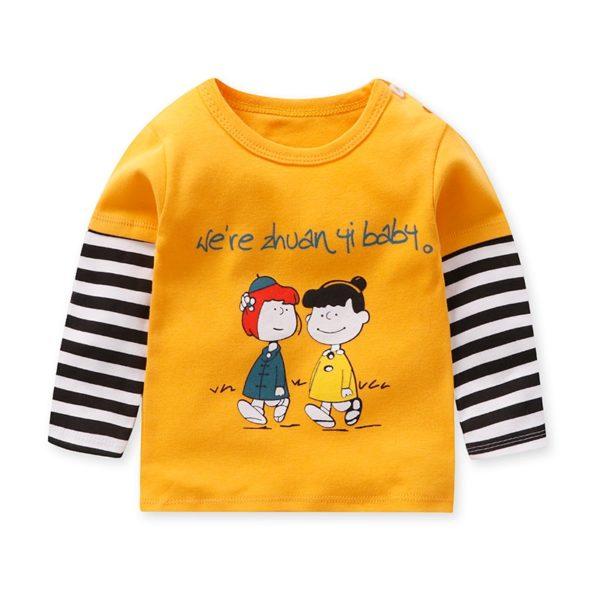 Dětské tričko s dlouhým rukávkem a krásnými potisky