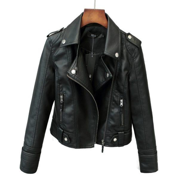 Luxusní dámská kožená bunda Joe