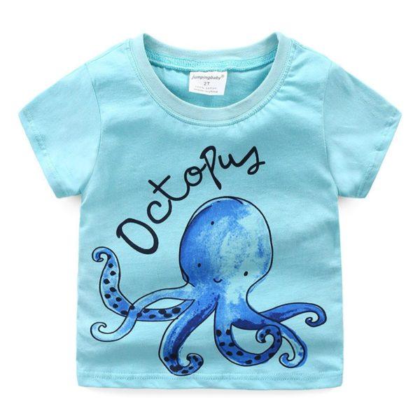Dětské tričko s chobotničkou