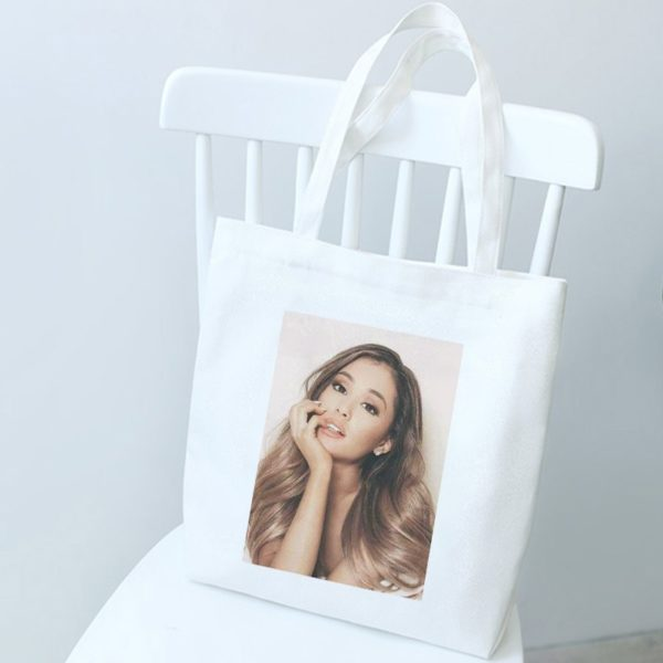 Ležérní dámská plátěná taška přes rameno