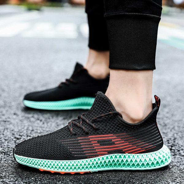 Pánské protiskluzové prodyšné běžecké boty