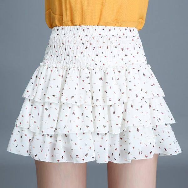 Dámská letní vzdušná mini sukně Lora