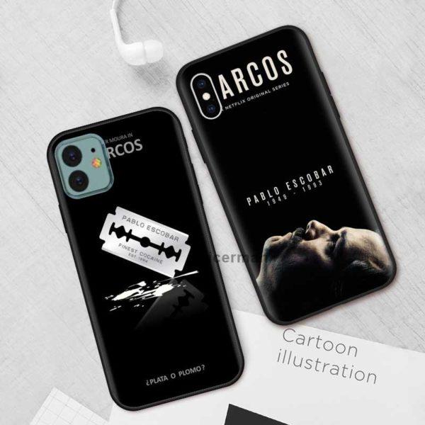 Silikonové pouzdro pro iPhone - oblíbený seriál Narcos