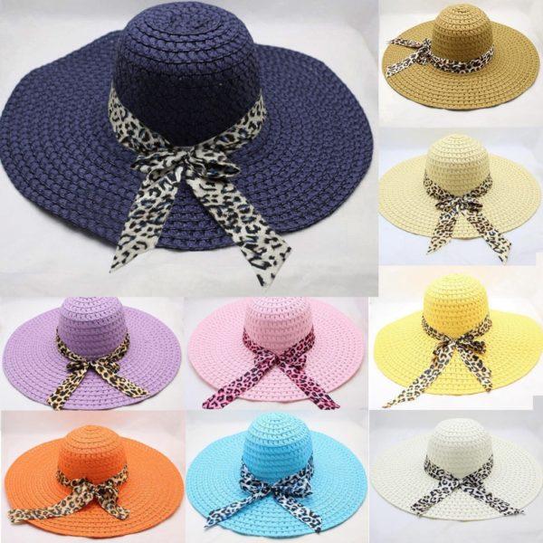 Dámský letní slaměný klobouk