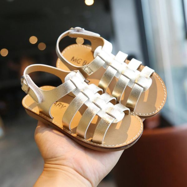 Dětské letní páskové sandálky
