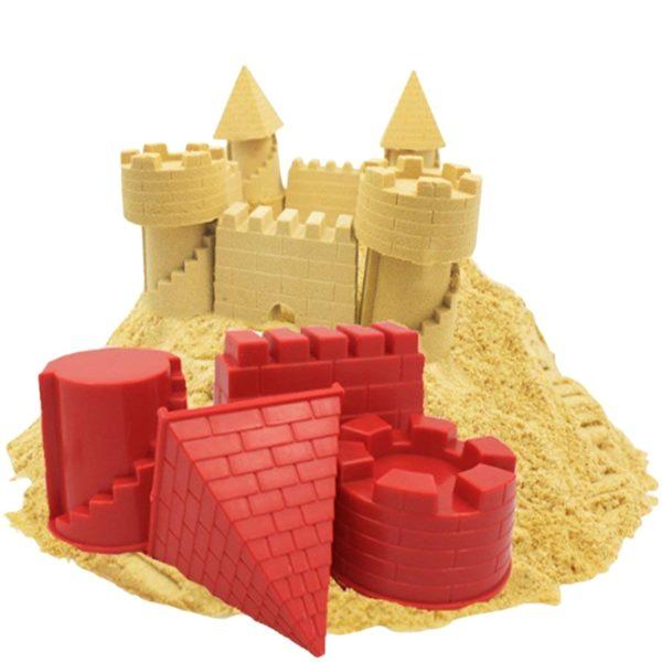Krásné kvalitní architektonické bábovičky na písek - dvě varianty
