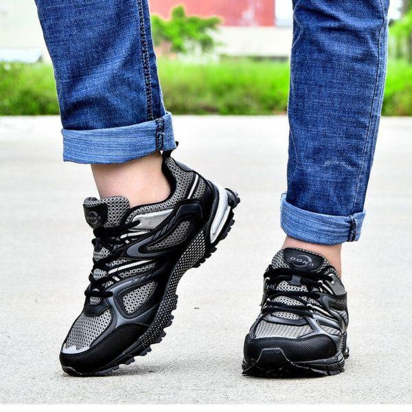 Pánské klasické běžecké šněrovací pohodlné boty