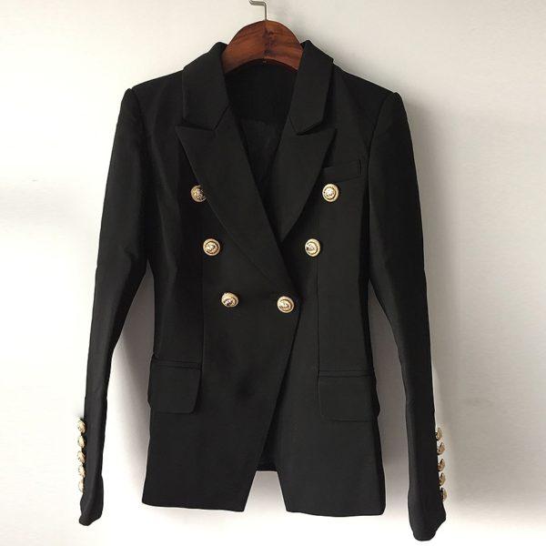 Dámské elegantní sako s knoflíky