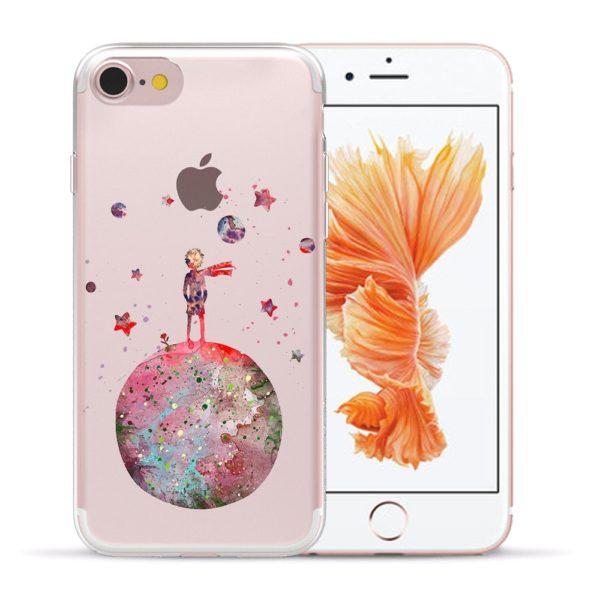 Silikonové kvalitní pouzdro pro různé typy iPhonů - Malý princ