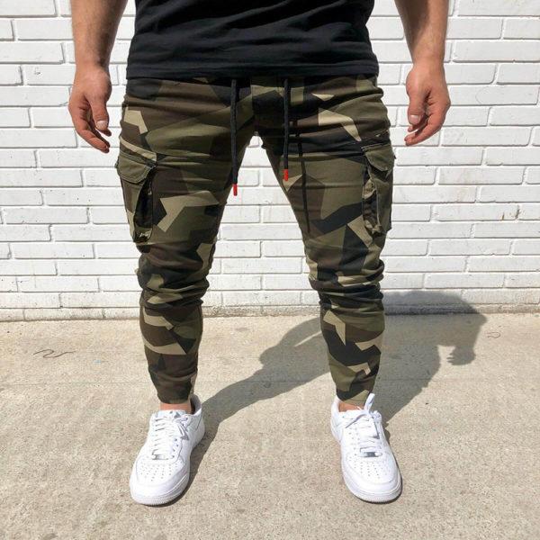 Pánské teplákové Cargo kalhoty