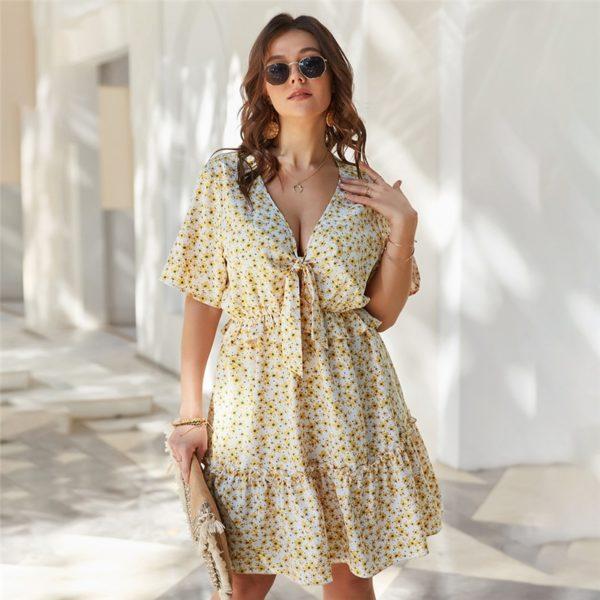 Dámské pohodlné letní krátké šaty Victoria