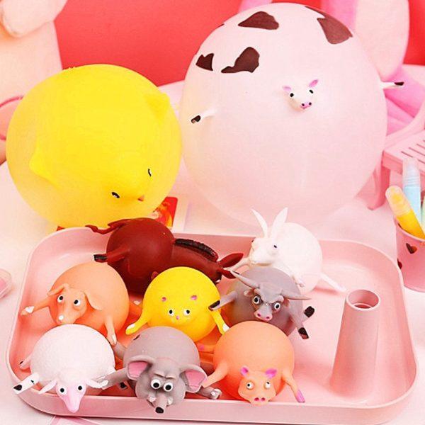 Dětské nafukovací balónky ve tvaru zvířátek