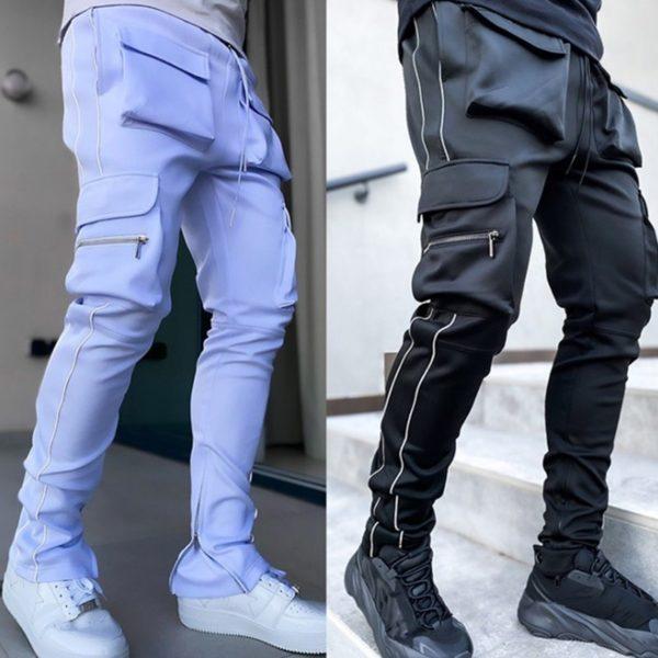 Pánské módní Skinny kalhoty