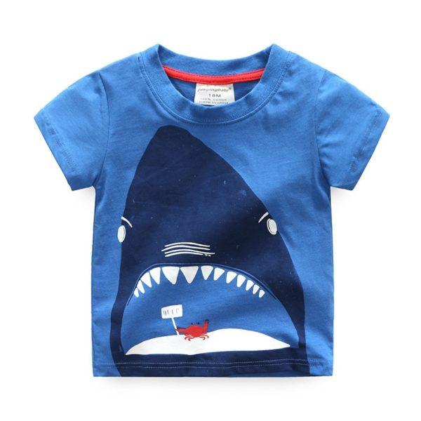 Chlapecké tričko se žralokem