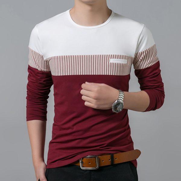 Luxusní pánské tričko s kapsičkou Liam