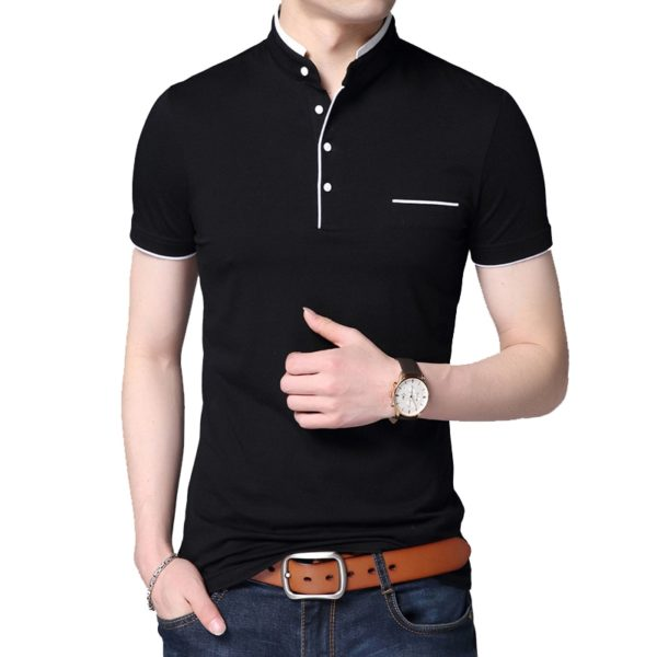 Luxusní pánské polo tričko s knoflíčky Jason