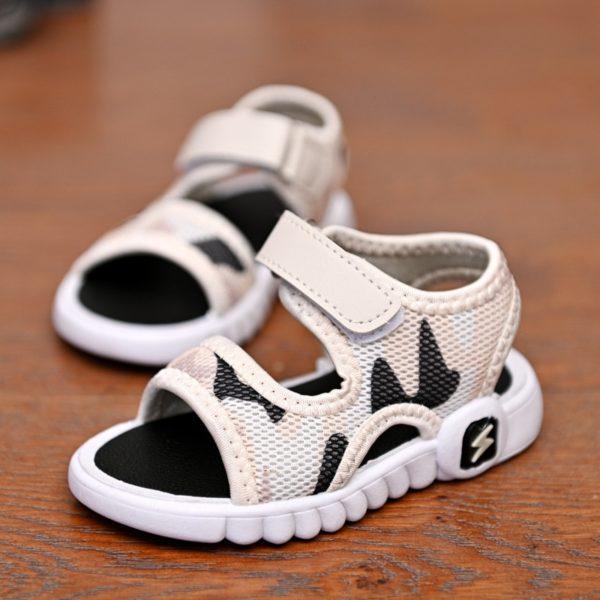 Letní prodyšné kvalitní dětské sandálky pro chlapečky i holčičky