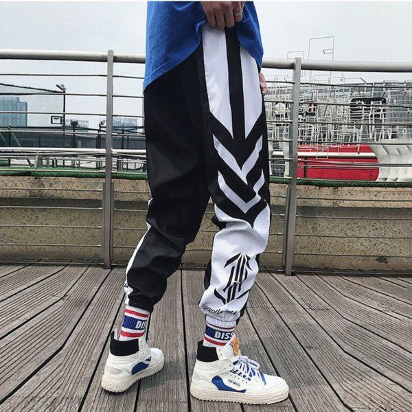 Pánské sportovní Hip hop Jogger tepláky